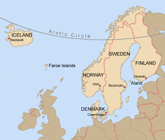 Nordic-countries